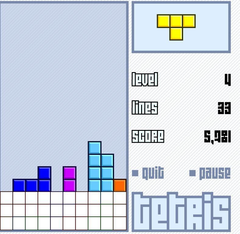 Bienvenue dans l'Arcade Virtuelle! Venez jouer ici! Tetris10