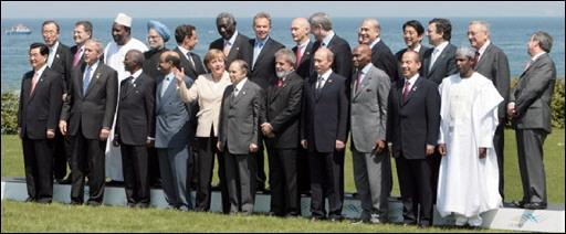 Sommet du G8 07060810