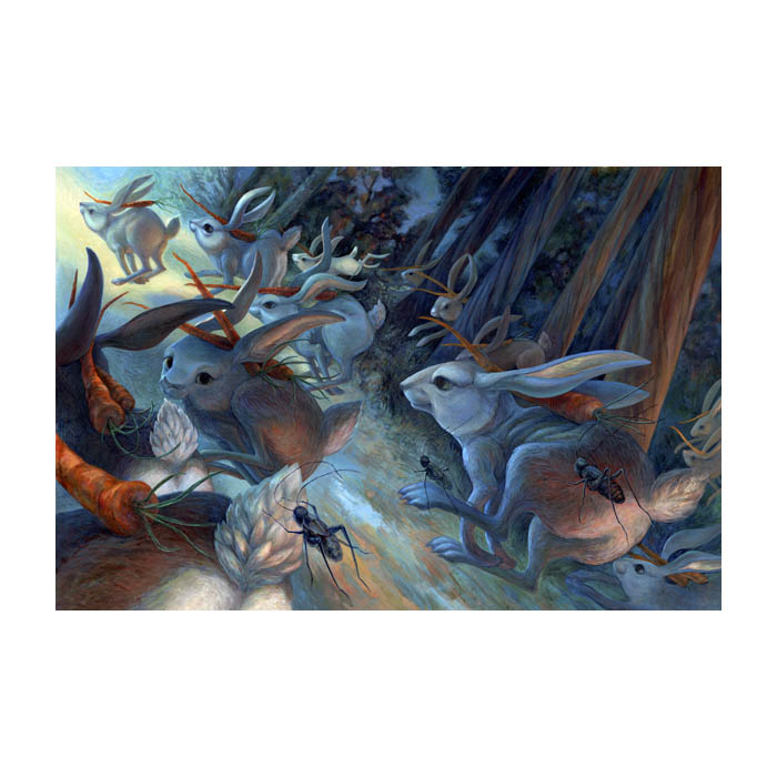 Artistes contemporrains qui valent le détour! Rabbit11