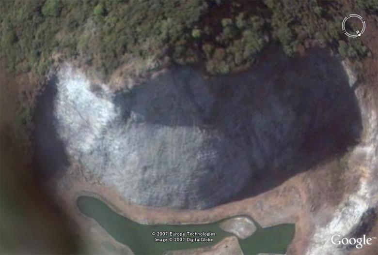 Les statues de Bouddha découvertes dans Google Earth Bouddh10