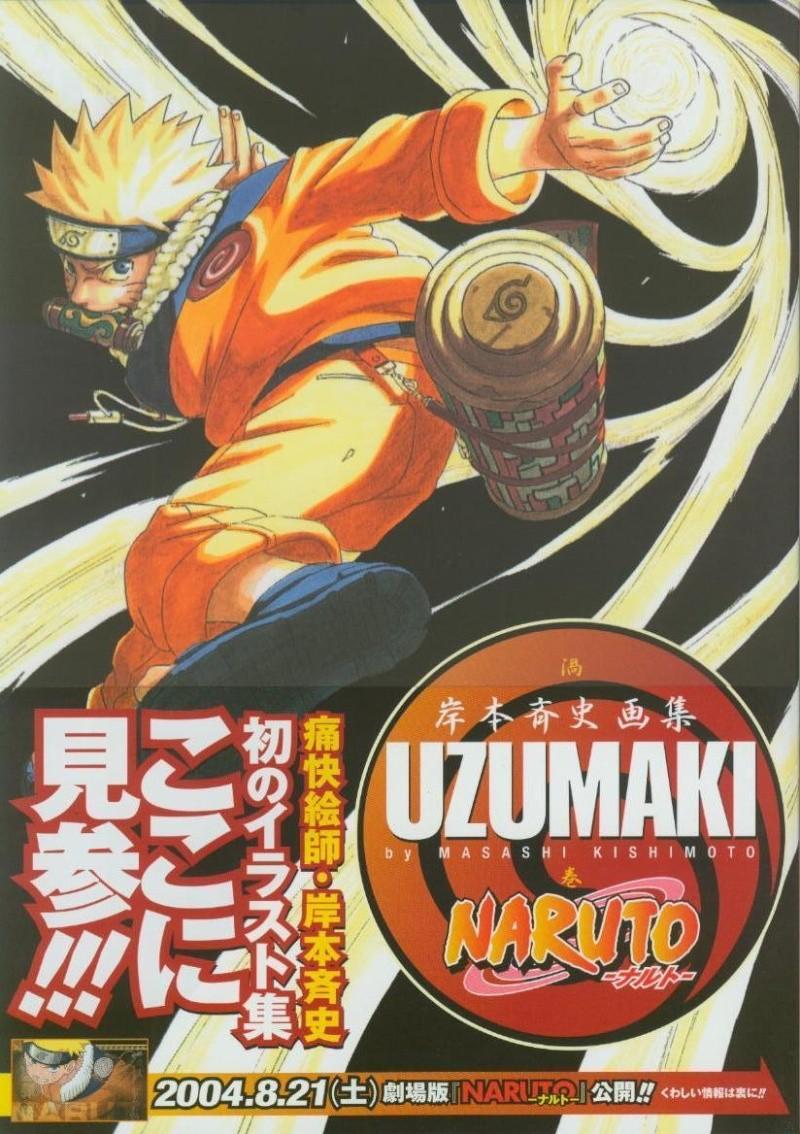 Artbook de Naruto Naruto10