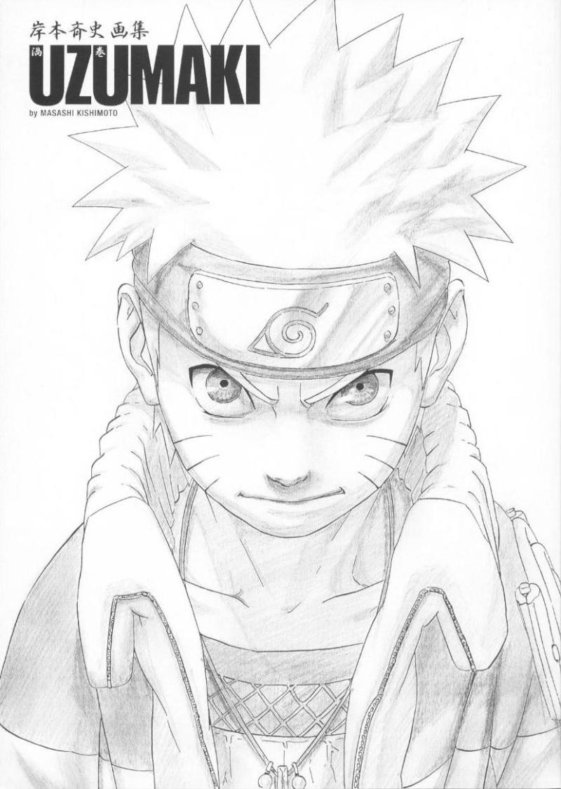 Artbook de Naruto Naruto11