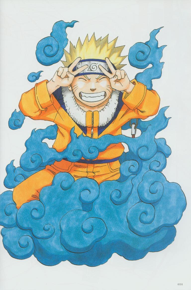Artbook de Naruto Naruto14
