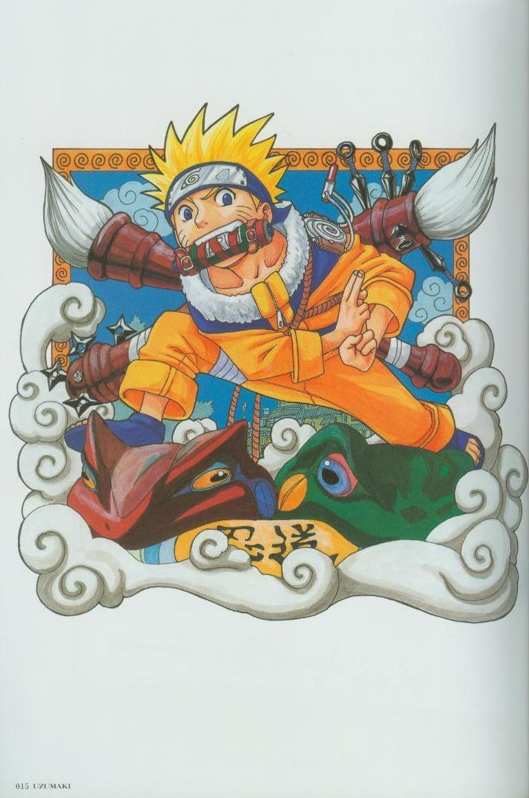 Artbook de Naruto Naruto15