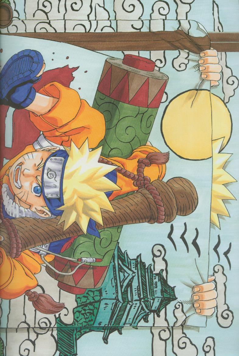 Artbook de Naruto Naruto17