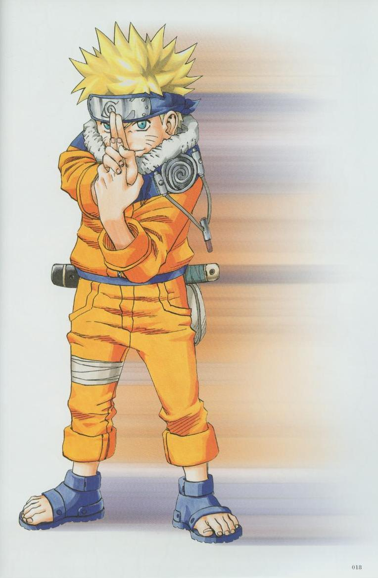 Artbook de Naruto Naruto18