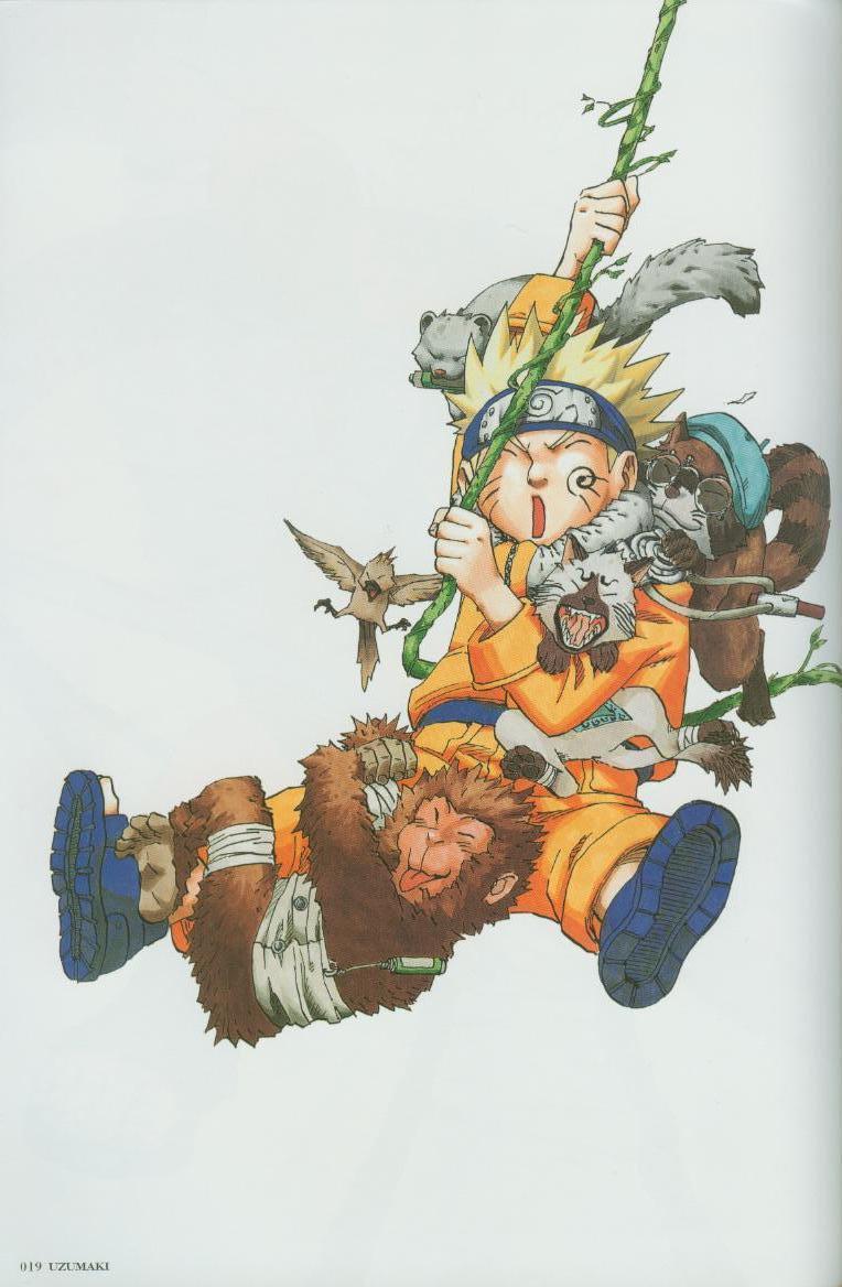 Artbook de Naruto Naruto19