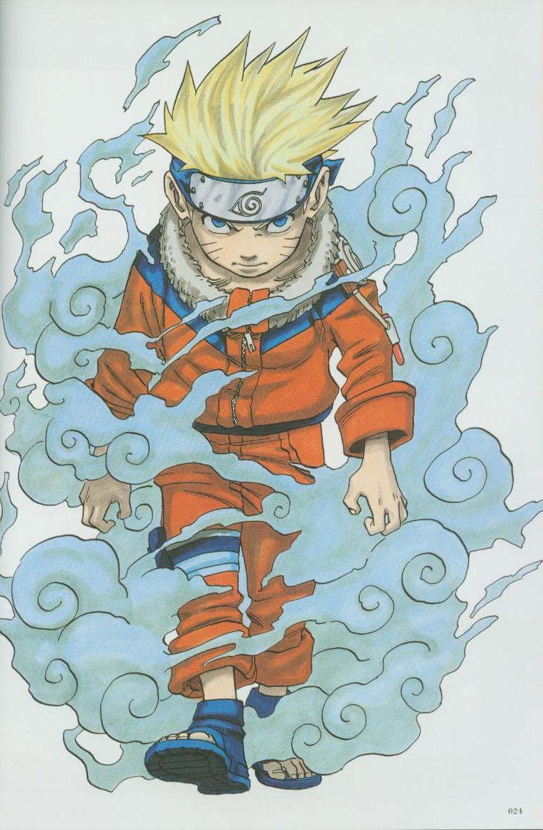 Artbook de Naruto Naruto20