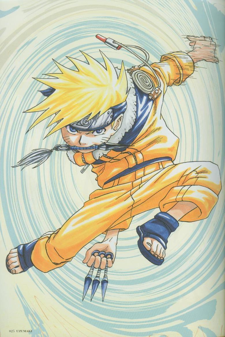 Artbook de Naruto Naruto21