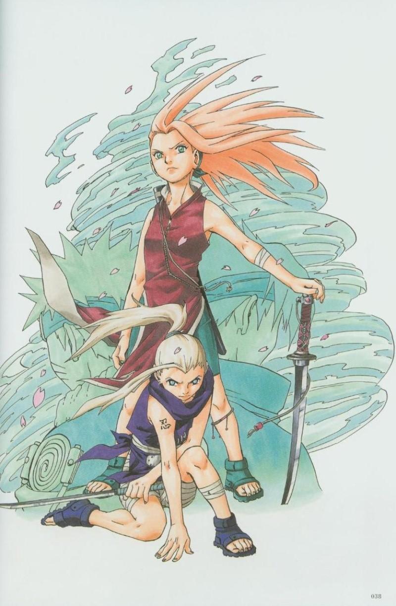 Artbook de Naruto Naruto25