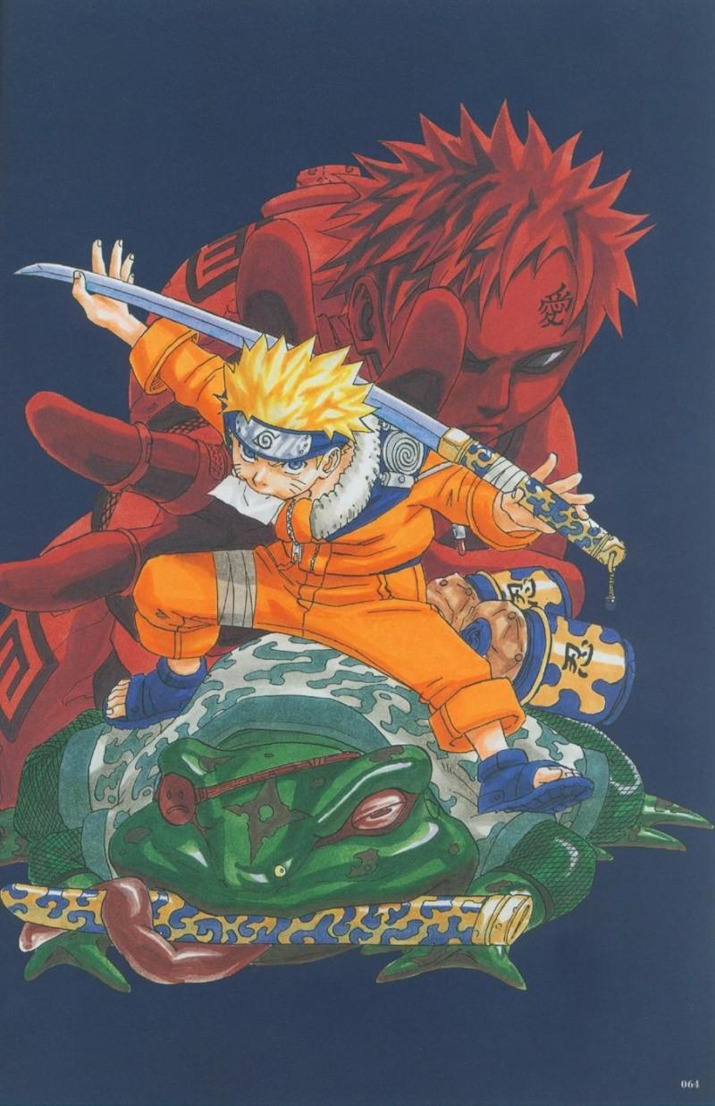 Artbook de Naruto Naruto32