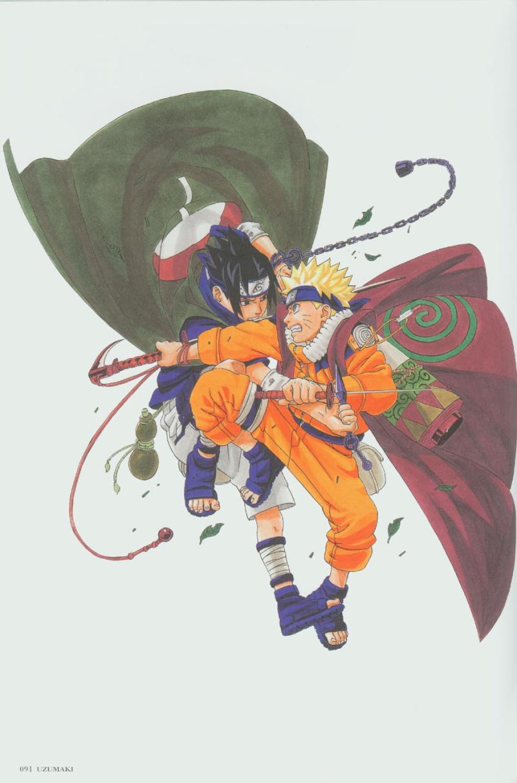 Artbook de Naruto Naruto38