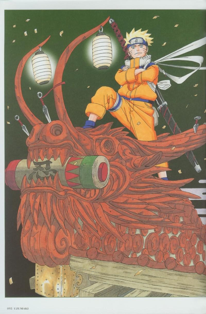 Artbook de Naruto Naruto40