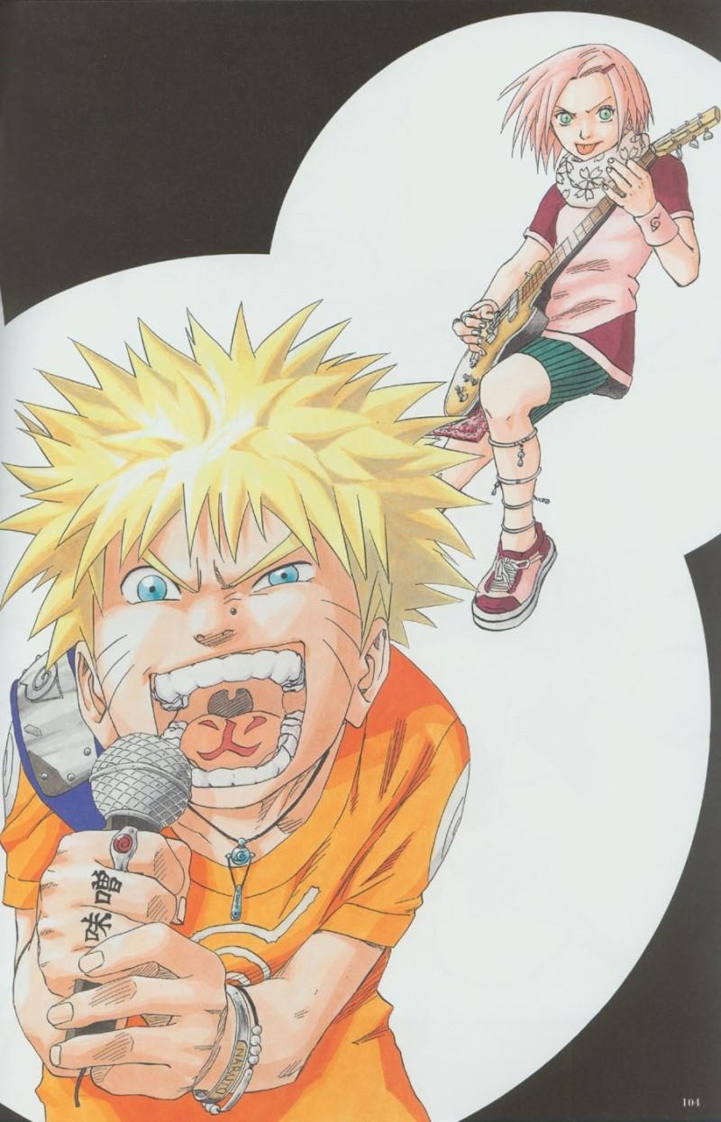 Artbook de Naruto Naruto42