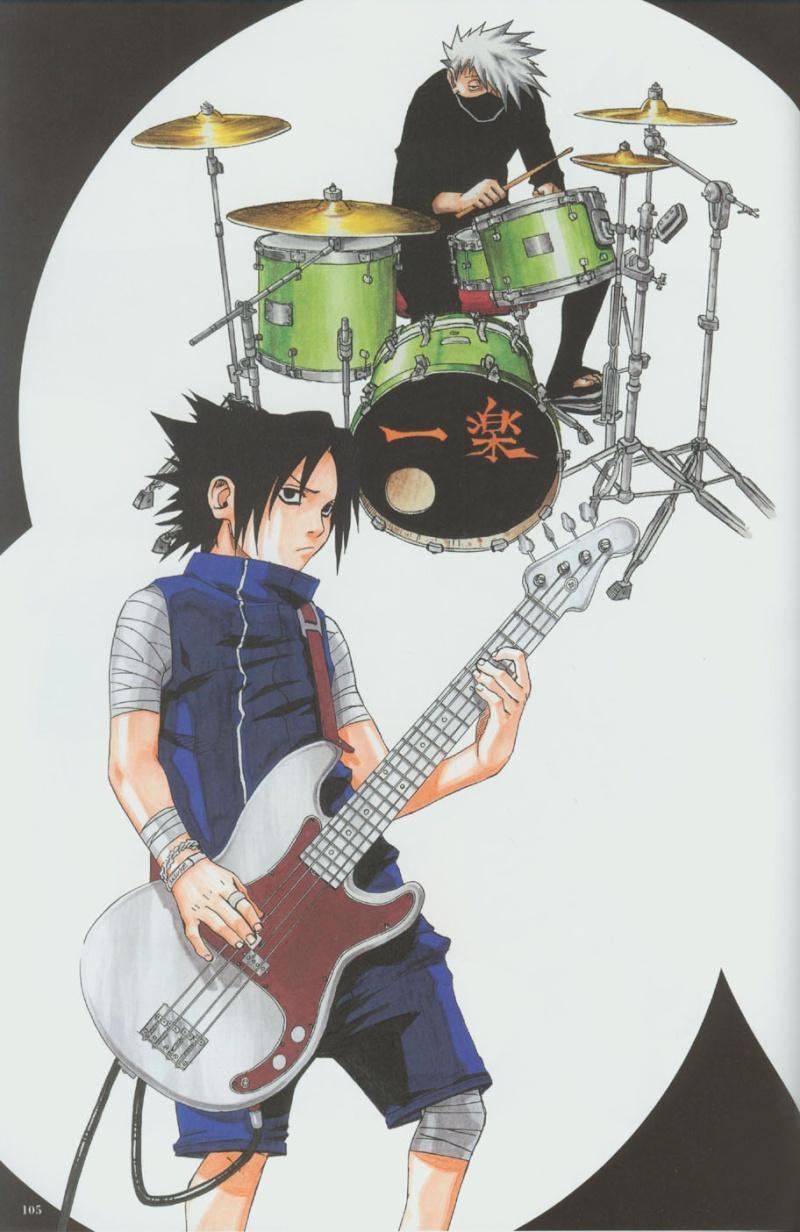 Artbook de Naruto Naruto43