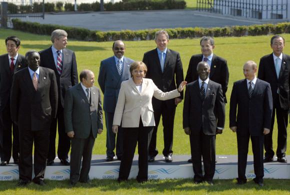 Sommet du G8 G8f10
