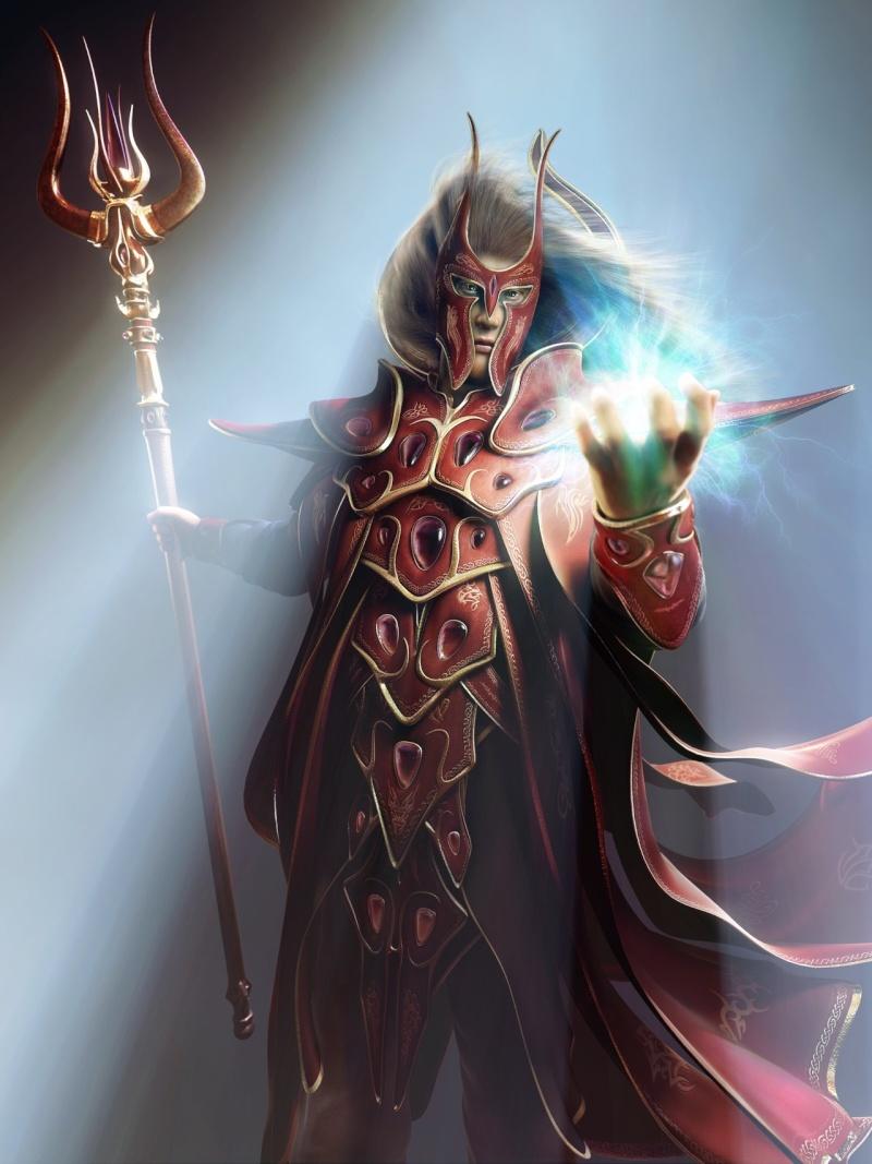 Draus Capitan de la Alta Torre (elfo) Blood_10