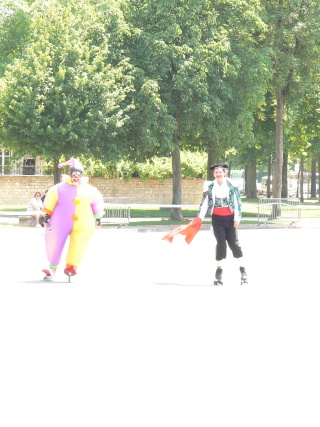 Marathon roller de Dijon ce week-end: 09/10 juin 2007 P1000410