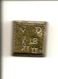 Ponderal Doppia de Florence, Gran ducado de Toscana s.XVII Escane42