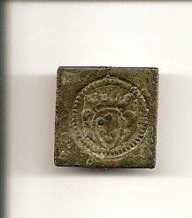 Ponderal Doppia de Florence, Gran ducado de Toscana s.XVII Escane43