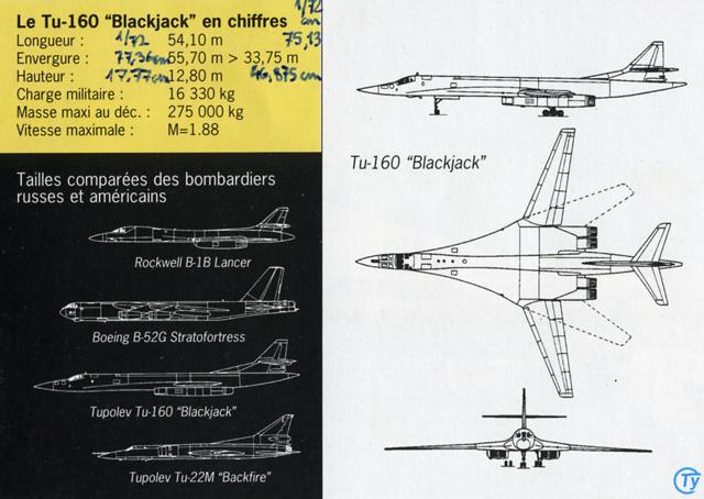 """Tupolev Tu-160 """"Blackjack"""" [1:144 - ZVEZDA] Compar10"""