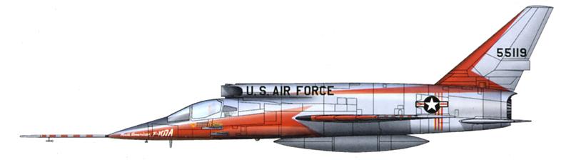 North American YF-107A Ultra Sabre (Trumpeter-72ème) Dessin10