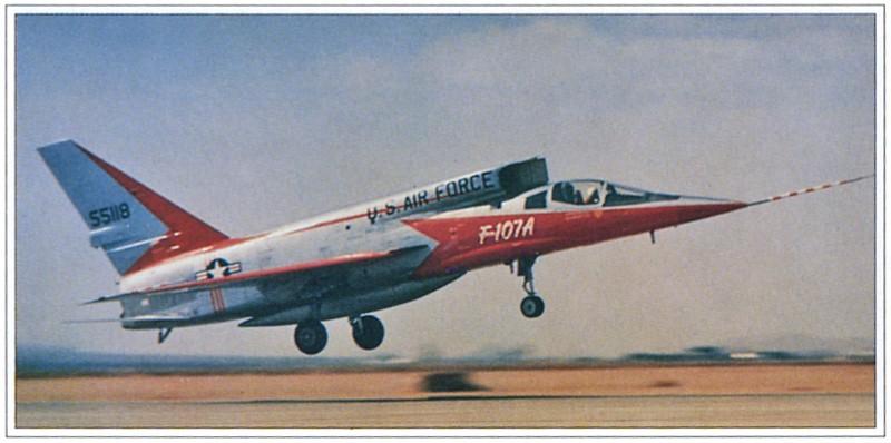 North American YF-107A Ultra Sabre (Trumpeter-72ème) Fot80010