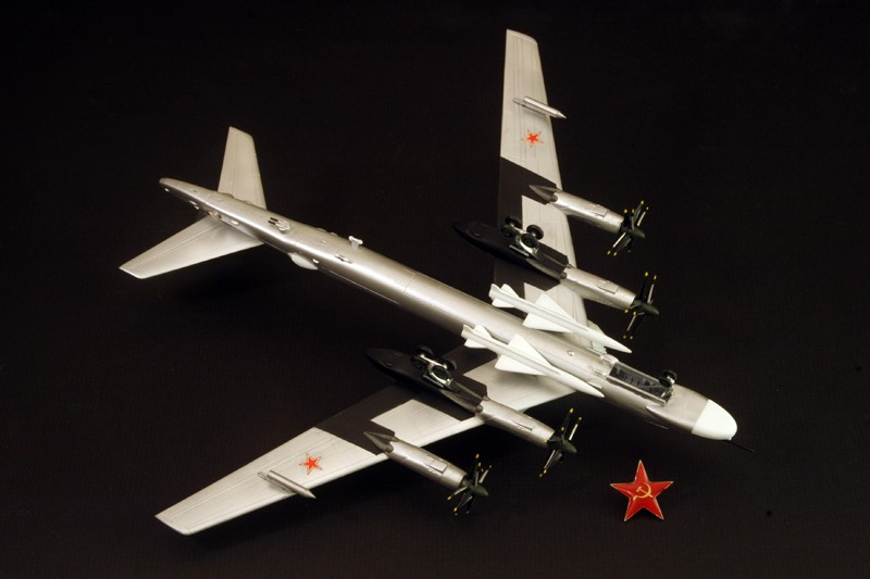 Tupolev Tu-95 Bear G  [1:200 - DRAGON] Tu-95_13