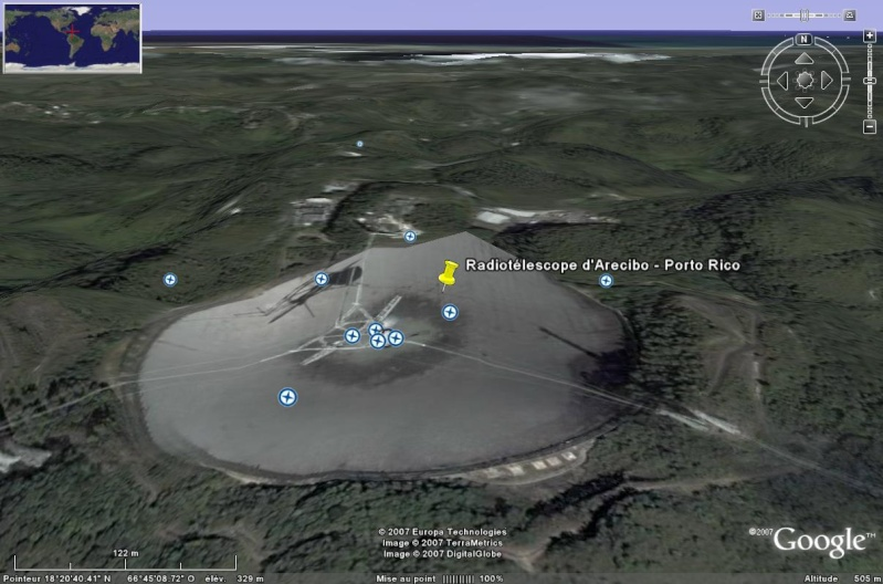 Observatoires astronomiques vus avec Google Earth - Page 2 Arecib11
