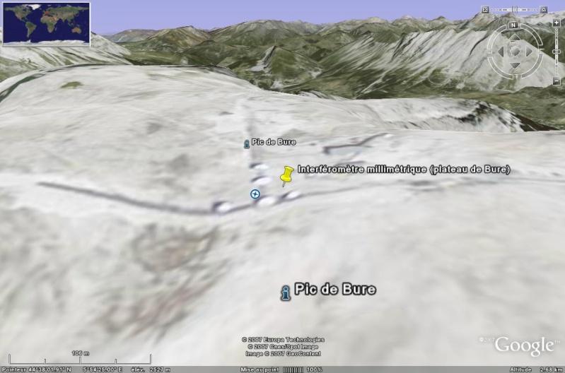 Observatoires astronomiques vus avec Google Earth - Page 2 Bure_210