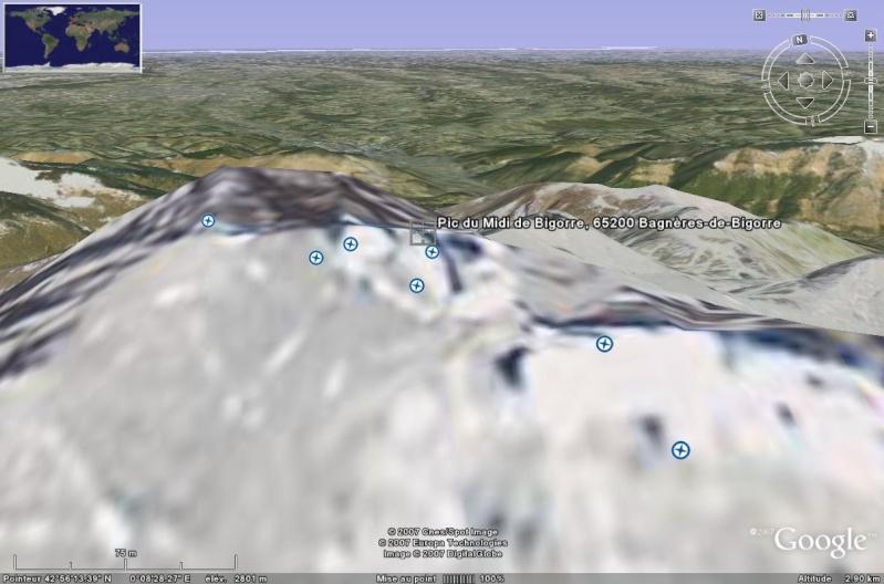 Observatoires astronomiques vus avec Google Earth - Page 2 Pic_du10