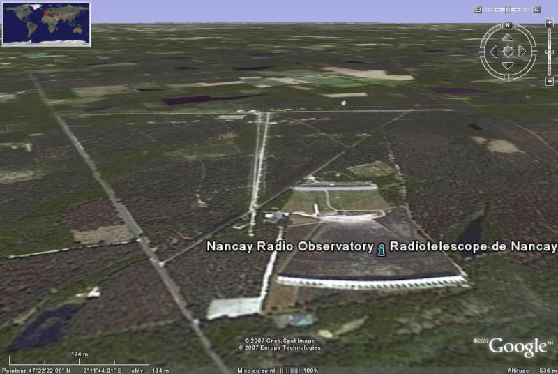 Observatoires astronomiques vus avec Google Earth - Page 2 Radiot10
