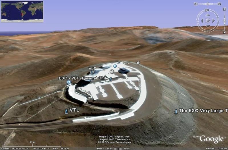 Observatoires astronomiques vus avec Google Earth - Page 15 Vlt10