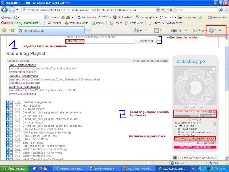 [Tuto Image]Comment récuperer de la musique su Radioblog.com 110
