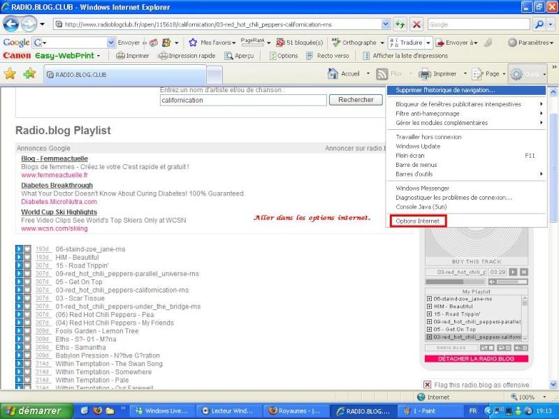 [Tuto Image]Comment récuperer de la musique su Radioblog.com 210