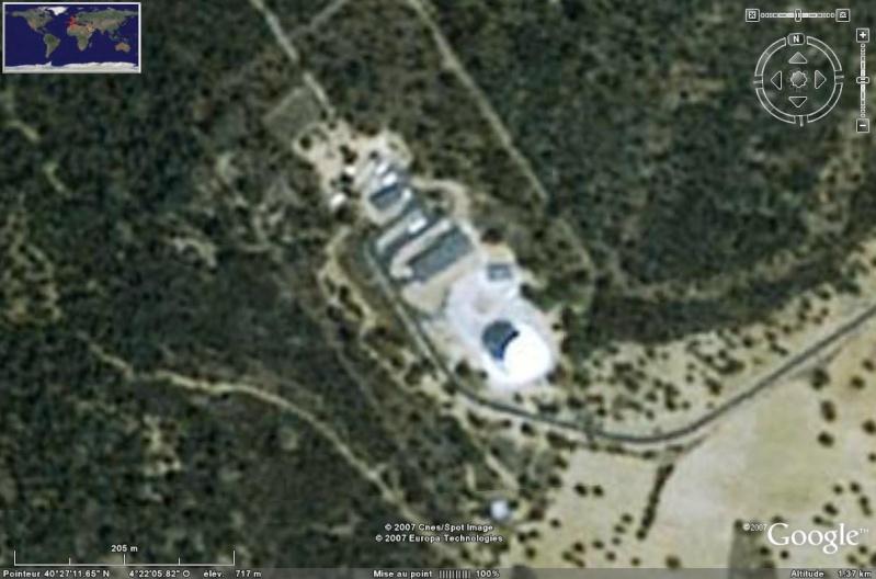 Observatoires astronomiques vus avec Google Earth - Page 6 Cebrer11