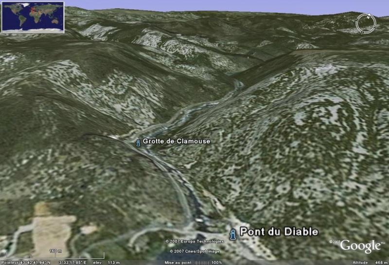 Les grottes du Monde illustrées avec Google Earth Grotte10