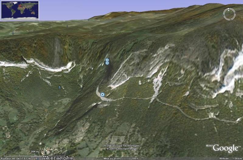 Les grottes du Monde illustrées avec Google Earth Grotte11