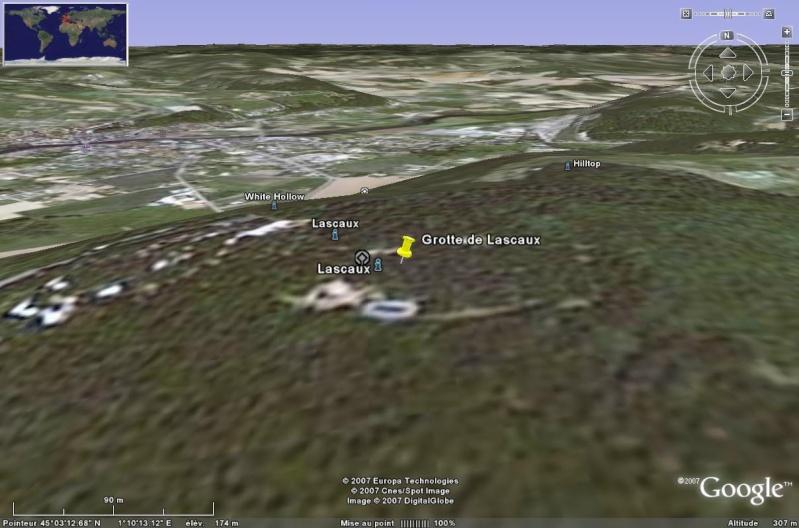 Les grottes du Monde illustrées avec Google Earth Grotte15