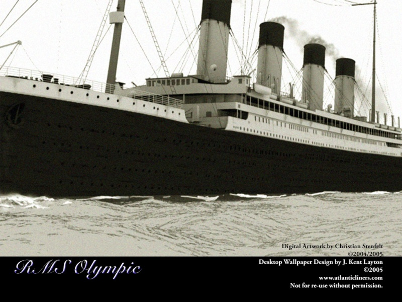 RMS Olympic Olympi11