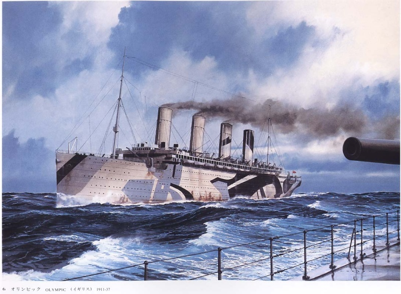RMS Olympic Olympi12
