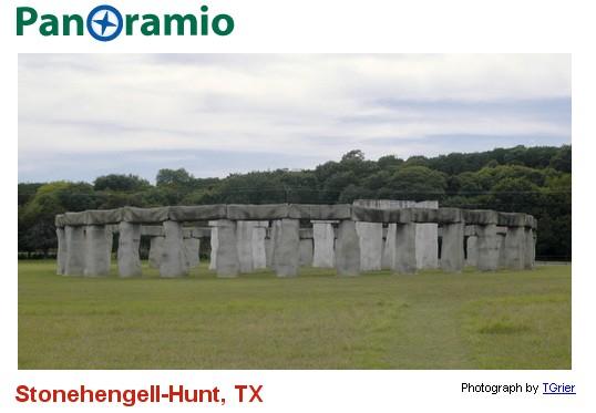 Stonehenge : les répliques Hunt210