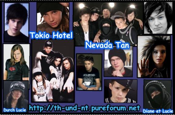 Tokio Hotel und Nevada Tan