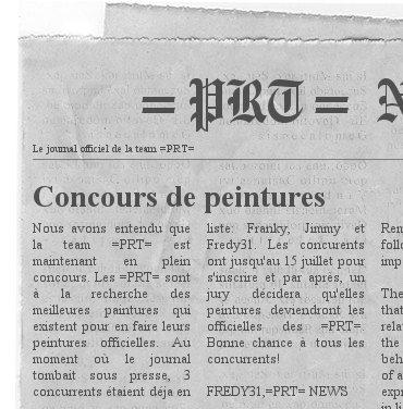Le journal =PRT= NEWS Newspa10
