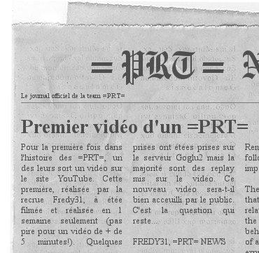 Le journal =PRT= NEWS Video10