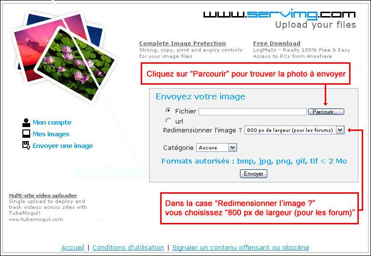 Comment mettre vos photos sur le forum ? Choisi10