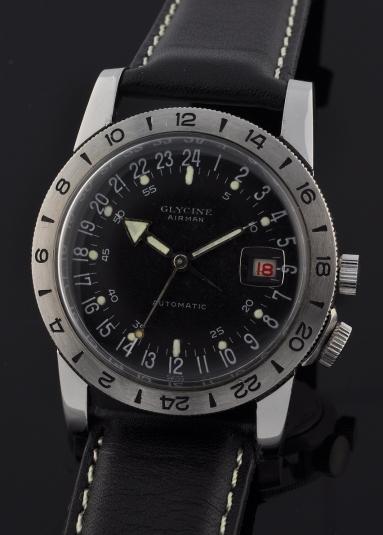 Breitling - Une montre de pilote d'Hélico... Glycin10