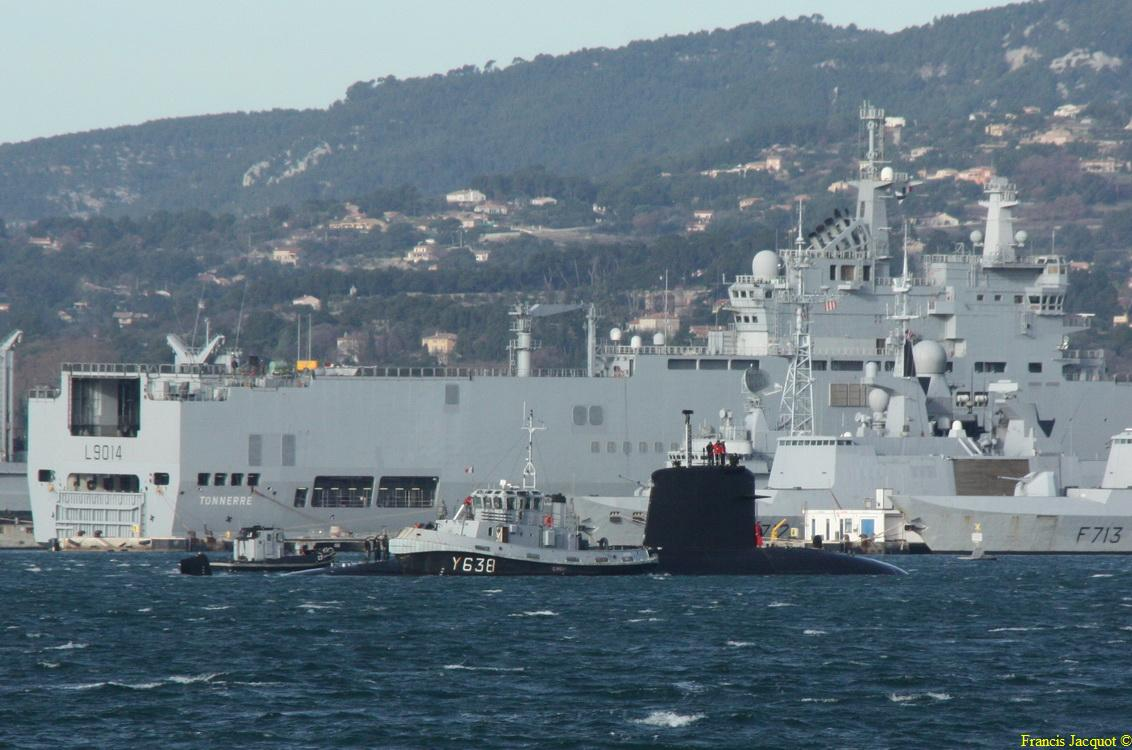 [LES PORTS MILITAIRES DE MÉTROPOLE] Mouvements de Bâtiments dans la rade de Toulon - Page 3 1211