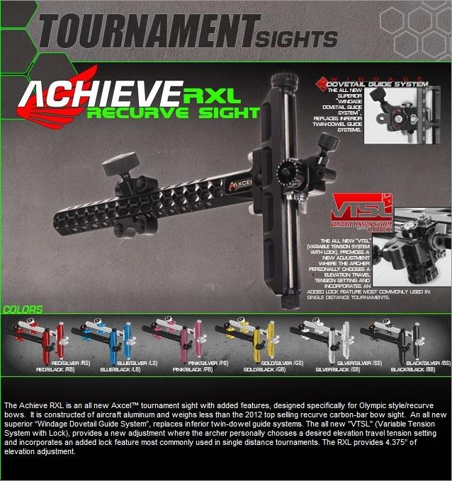 Nouveaux viseurs Axcel Achiev12