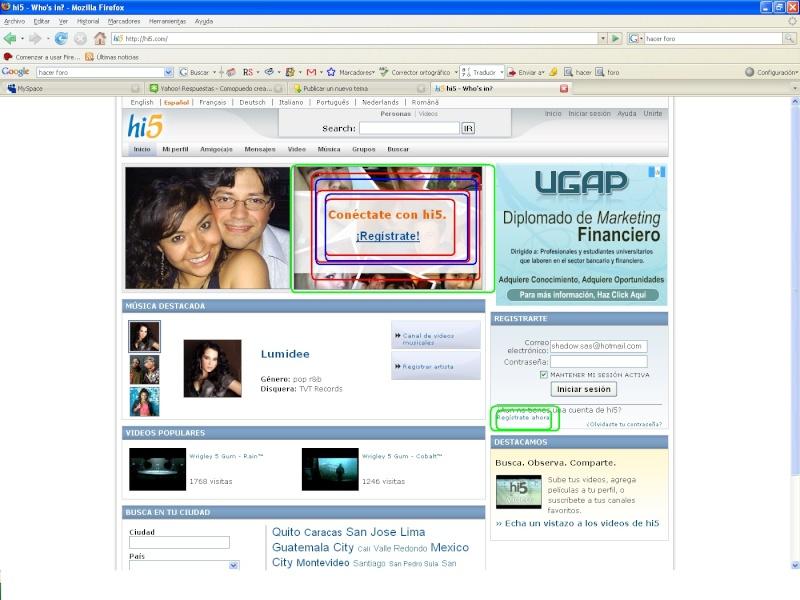 crear cuenta en Hi5 H_bmp10